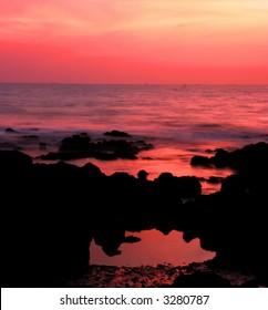 long exposure after sunset (goa, India) #4