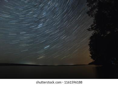 long exposure astro photo