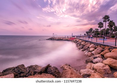 Long exposure landscape of Mersin city of the Mediterranean Sea. The Mersin Province (Turkish: Mersin ili) is a province in southern Turkey, on the Mediterranean coast between Antalya and Adana.