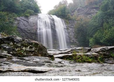 Long exposure landscape of Suuctu Selalesi - Suuctu Falls, Bursa, Turkey. Taken in October, in atumn.