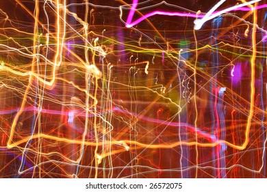 Long exposure light magic