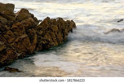 Long Exposure at Matosinhos Beach, Portugal