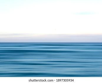 Long exposure of the ocean. Currumbin Gold Coast Australia