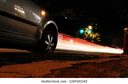 Long exposure photography powered by cars.(Light Trails)