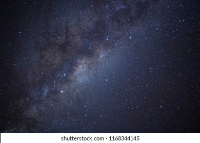 A long exposure shot of the Milky Way above New Zealand. This image was taken in Matauri Bay, on the North Island.   The image contains many stars, galaxies, and at least one planet.