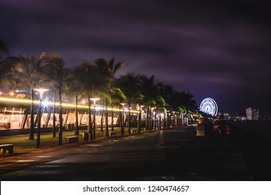 Long exposure at SM MOA Seaside, Manila, Philippines.