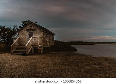 Long exposure, sunset, and panoramic shots of the sun setting over Assateague Island on Maryland's Eastern Shore