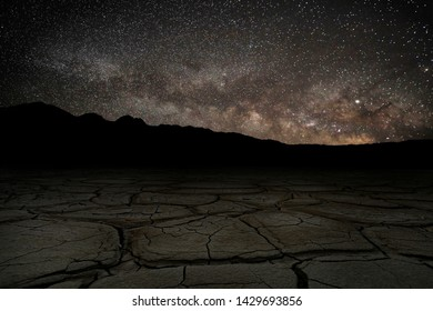 Long Exposure Time Lapse Image of the Milky Way Galaxy