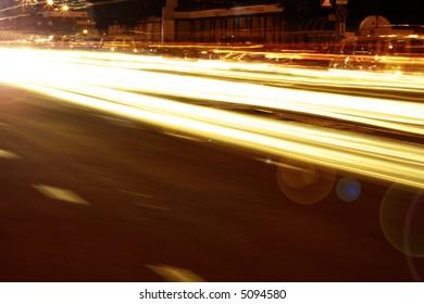 Long exposure. Very nice night shooting
