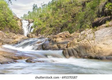 Long Exposure Waterfall in Belize