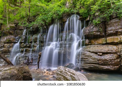 Long Exposure Waterfall in Chattanooga, Tennessee