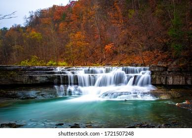 Long exposure waterfalls on a Taughannock Creek