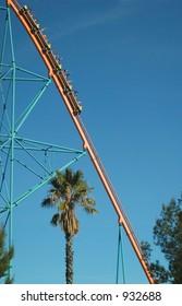 Long Fall--California Roller Coaster Goliath