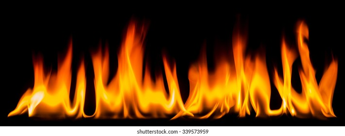 Long frames of fire