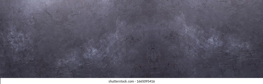 Long horizontal banner. Old stone texture background Copy space - Image