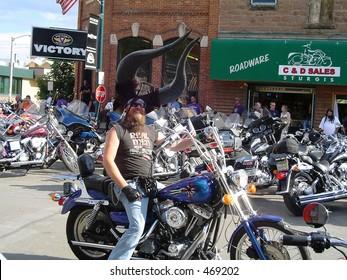 Long Horned Rider