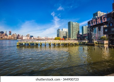 Long Island City - Queens side of the East River. New York