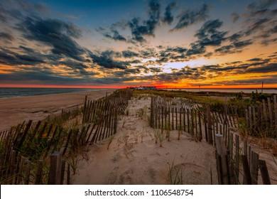 Long Island at sunset