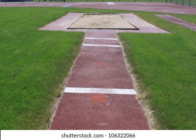 long jump pit