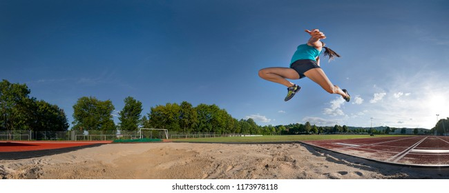 long jump in track and field