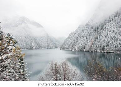 Long Lake, Jiuzhaigou, China