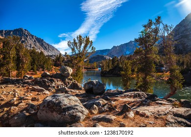 Long Lake Views, Bishop Pass, Inyo Forest, California