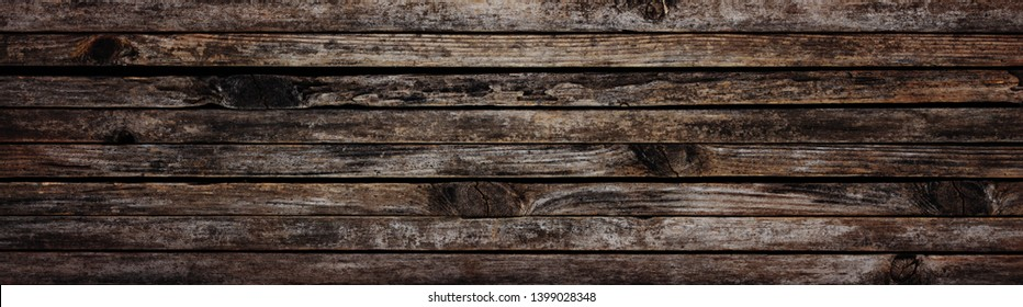 Long planks of old wood or grunge wood texture background.