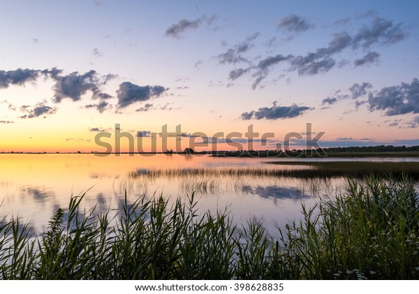 Long Point sunrise over Lake Ontario