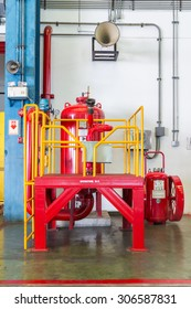long range Fire extinguishers and Big Mobile Fire extinguishers and Megaphone for announce in wide area and emergency light