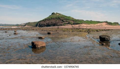 Long Reef Headland Sydney,low tide