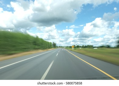 The long road route in rush