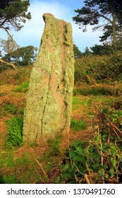 The Long Rock, Standing Stone, St Mary's, Isles of Scilly, UK