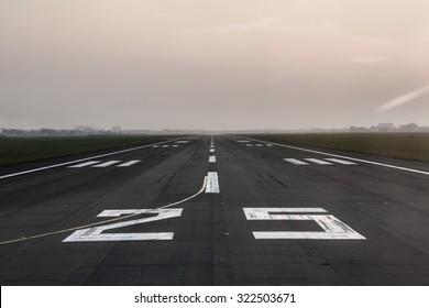 Long runway.