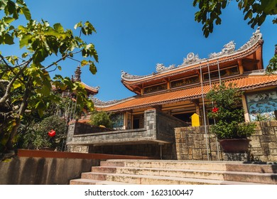 Long Sean Pagoda is a Buddhist temple in Nha Trang. Vietnam