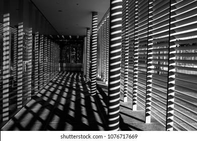 Long shadows stripes