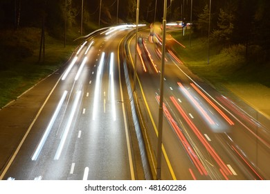 long shutter time on traffic