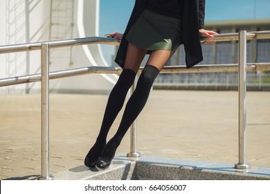 fetish-high-knee-sock