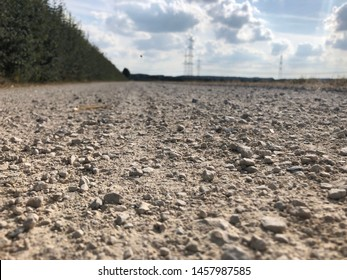 a long and stony dirt road