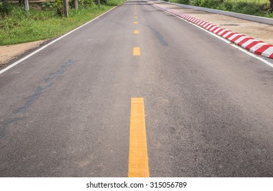 The long straight roads