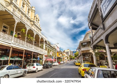 LONG STREET, CAPE TOWN - APRIL 22, 2015: Long street avenue during a quite day in Cape town, South Africa