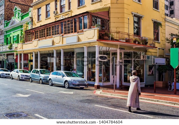 Long Street in Cape Town, South Africa