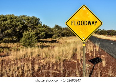 a long way in Australia with the danger of flooding- floodway