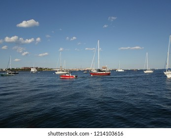 Long Wharf, Boston Harbor, Boston, Massachusetts, USA