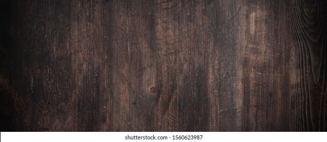 Long wood planks texture background and banner.