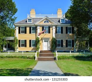 Longfellow House in Cambridge, Massachusetts - USA