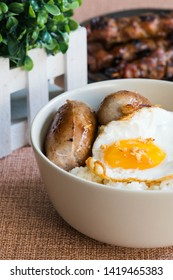 longgasilog, Filipino style hotdog with egg on top of garlic rice is one of favorite dishes of Filipinos