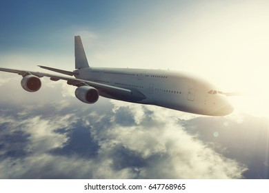 Long-haul plane on the fly