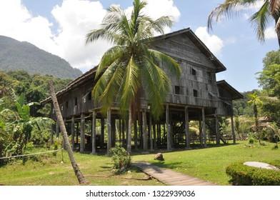 Longhouse - Borneo, Malaysia