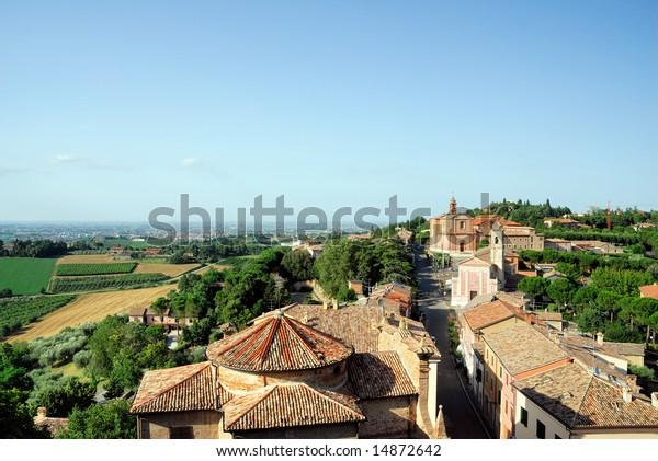 Longiano village, Italy