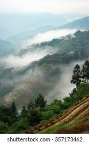 Longji terrace fields in Guilin